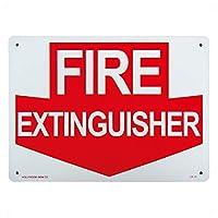 AMERICAN プラスチックサインボード 禁煙 NO SMOKING 火気厳禁 喫煙可 消火器 (FIRE EXTINGUISHER(CA-13 ))