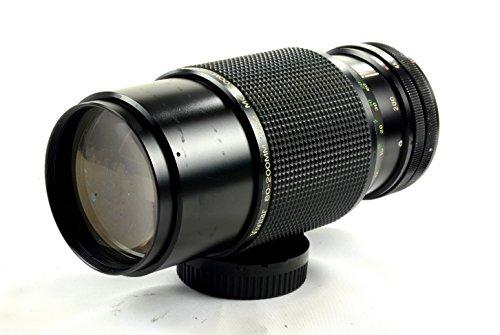 Vivitar 80–200mm f 4,5MC Lente de Enfoque Manual FD Pantalla Plana para Canon A-1Ae-1T50T70.