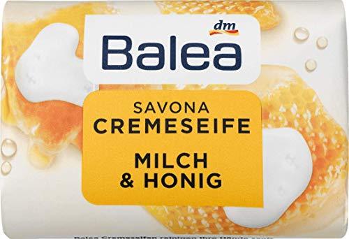 Balea Seifenstück Savona Cremeseife, 150 g (Milch & Honig)