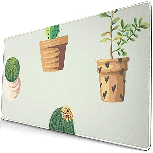 muismat muismat antislip rubber duurzame Cactus plant bloempot bloem patroon