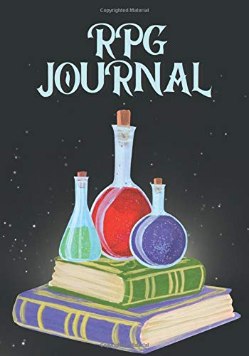 RPG journal: role playing game notebook, for RPG boarding games and storytelling, blank mixed paper.