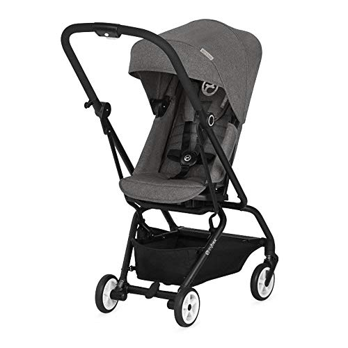 Cybex Eezy S Twist Baby Stroller, Manhattan Grey & Aton 2 Rear-Facing Car Seat