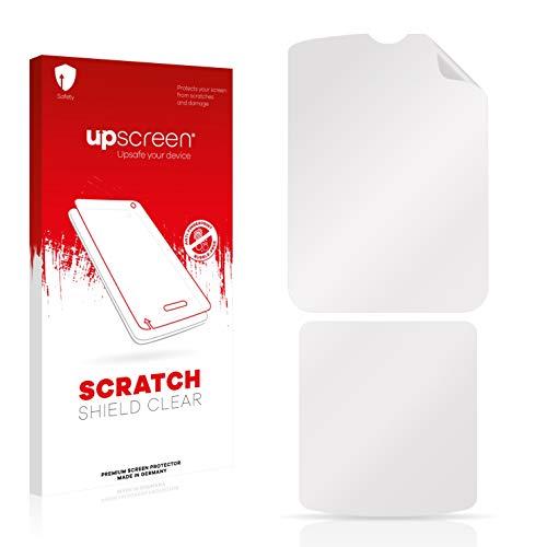 upscreen Schutzfolie kompatibel mit Motorola Razr V3i – Kristallklar, Kratzschutz, Anti-Fingerprint