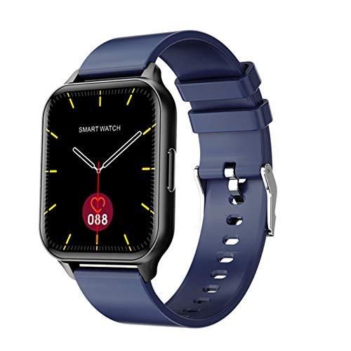 Ny Q26 Smart Watch Men Kvinnor Full Touch Fitness Tracker Blodtryck Hjärtfrekvens Monitor SmartWatch för Android IOS,c