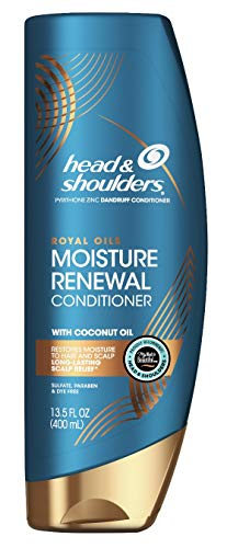 Head & Shoulders Conditioner Royal Oils Moisture 13.5 Ounce (400ml) (3 Pack)