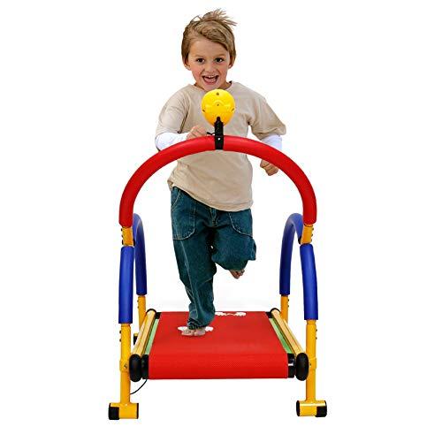 RIYIFER Mini Cinta de Correr mecánica Infantil, con Pantalla LED, Apta para niños de 3 a 8 años, Equipamiento Deportivo de Entretenimiento y Fitness