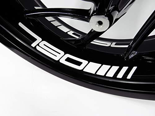 Bike Label 790077 - Pegatinas para el fondo de la llanta de KTM 790 Duke y Adventure