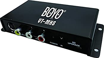 BOYO VT-MHS - ATSC M/H Digital TV Receiver Box With Waterproof Active Antenna for Car Truck or Van
