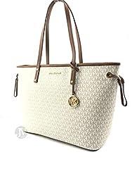Michael Kors Drawstring Handbag 35T9GTVT9V-150 ,Vanilla,  Large