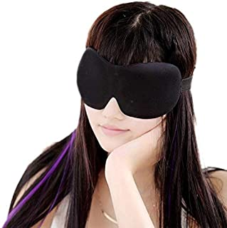 Light Blocking Sleep Mask Blackout Blindfold Eye Shades Soft Comfortable Relief for Migraine Headache Insomnia Fatigue