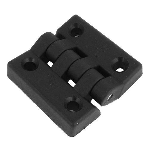 Zwarte enkelvoudige metalen as kunststof kast deur kont scharnier