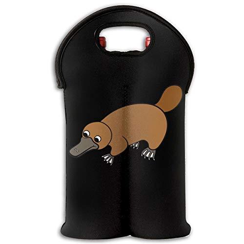 90ioup Platypus Duckbill Reisetasche für 2 Flaschen