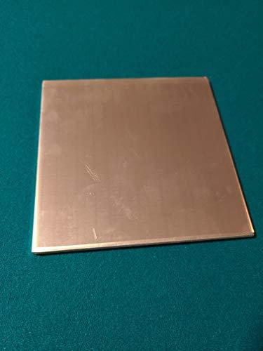 """.250. 1/4"""" Aluminum Sheet Metal Plate. 36"""" x 36"""". Flat Stock. 1 PC"""