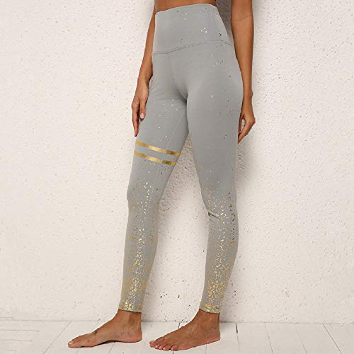 Zwarte yogabroek, sneldrogende panty, hardlooplegging met hoge taille, legging, training push-up legging