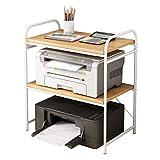 Soporte de Impresora Material de almacenamiento de almacenamiento multifunción de 3 capas de la impresora de escritorio, utilizado para el soporte del escáner de la máquina de fax de la mesa de la ofi