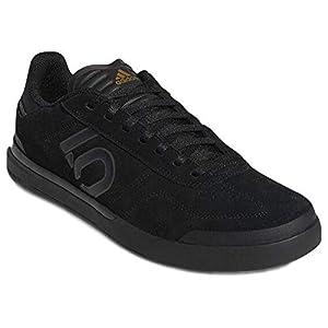Five Ten Sleuth DLX Mountain Bike Shoe - Men's Black/Grey Six/Matte Gold 11.5