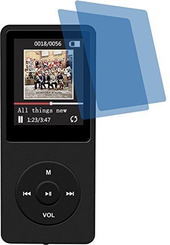 4ProTec I 2X ANTIREFLEX matt Schutzfolie für AGPTek 16GB MP3-Player Premium Displayschutzfolie Bildschirmschutzfolie Schutzhülle Displayschutz Displayfolie Folie