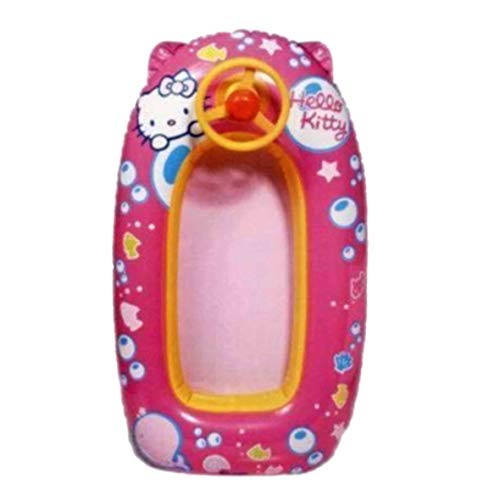 Schlauchboot Hello Kitty mit Lenkrad cm.80