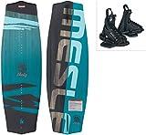 MESLE Wakeboard-Package Liberty 128 cm con Fijaciones Onset Junior, Tabla...