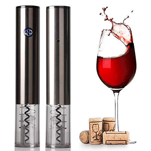 DUTUI Rechargeable Wine Corkscrew, Rechargeable Touch Electric Corkscrew, Automatic Wine Corkscrew, One Key to Open The Encounter with Wine