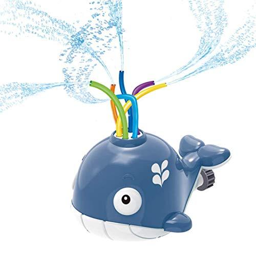 ZWPY Aspersores de Juego de Agua para niños, Juguetes de jardín, aspersor Incorporado para niños, Juguetes de Juego de Agua para Piscina Juego de Salpicaduras