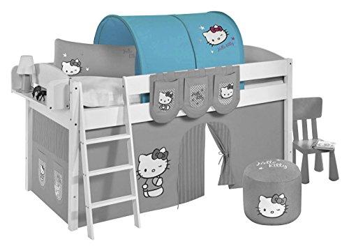 Lilokids Tunnel Hello Kitty Türkis - für Hochbett, Spielbett und Etagenbett