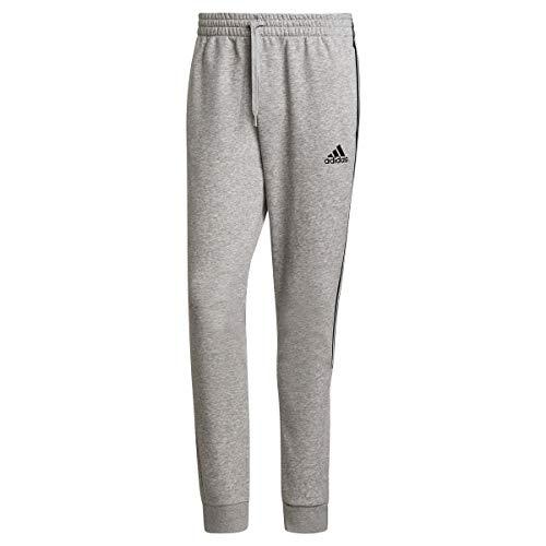 adidas Herren Cut 3s Pt Kompressionshose, Medium Grey Heather/Black, L EU
