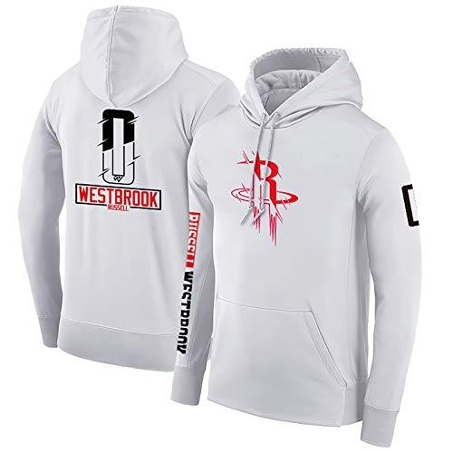 Russell Westbrook # 0 Sudadera con Capucha, Houston Rockets Hombres Camiseta de...