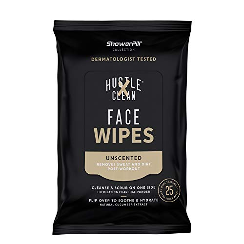 The Body Wipe by ShowerPill - No Shower Wipes for Adults for Post-Workout or Camping Bathing - Pack...