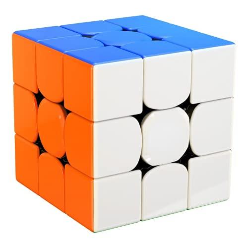 Sequenzielles Puzzle Farbe Dreifacher Magnetwürfel Rennspiel Spezielles Lernspielzeug für Kinder