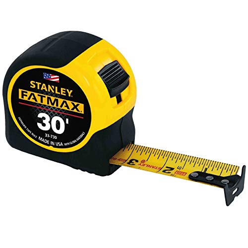 Stanley FatMax Tape Measure 30ft. (Pack of 4)