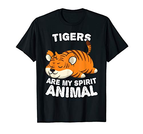 Anime Tigers My Spirit Animal Gifts for Animal Lovers T-Shirt