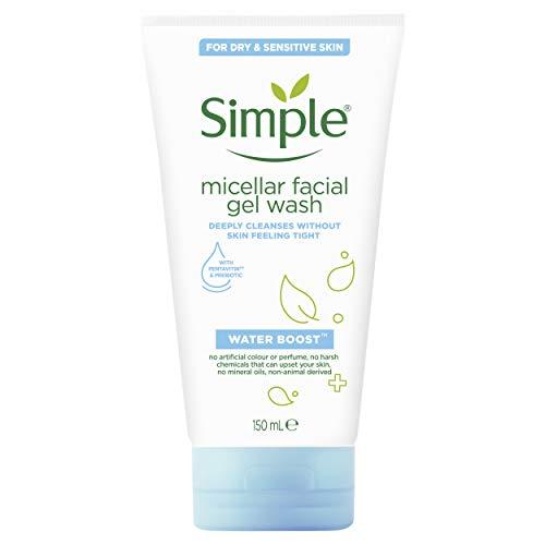 Simple Jabón Limpiador Facial Water Boost 150 Mililitros