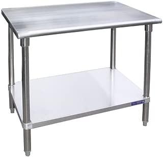 Stainless Steel Work Table Food Prep Worktable Restaurant Supply 18