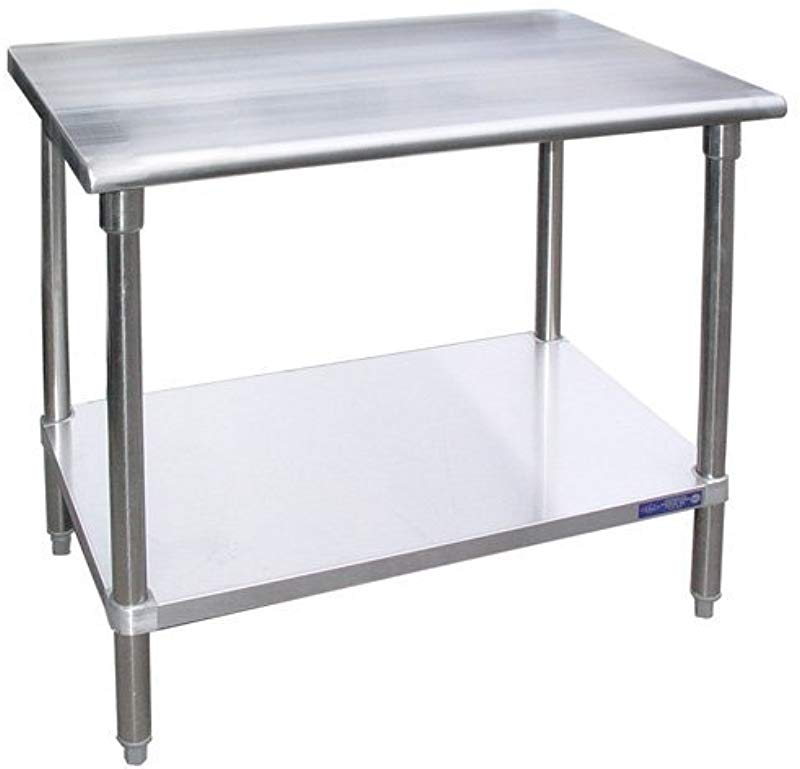 Stainless Steel Work Table Food Prep Worktable Restaurant Supply 30 X 30 NSF Approved