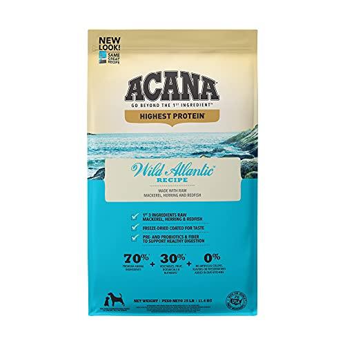 Acana Grain Free Dry Dog Food, High Protein,...