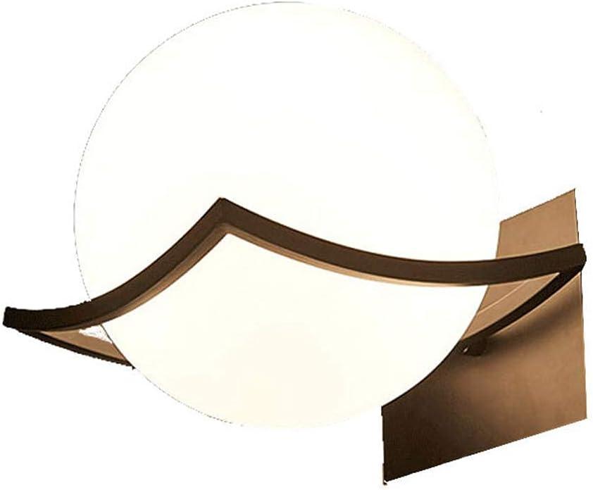 GIOAMH Lighting Modern Bedside 55% OFF Lamp Round E27 Lam Diameter Glass Max 84% OFF