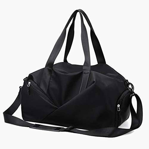 TENGCHUANGSM Bastante viaje bolsas cabina equipaje moda mujer fitness yoga bolsas bolsillo zapatos nylon impermeable fin de semana deporte bolsa