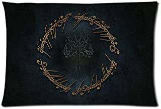 Green-Store Custom Lord of the Rings Elvish Home Decorative Pillowcase Pillow Case Cover 20*30 Two Sides Print