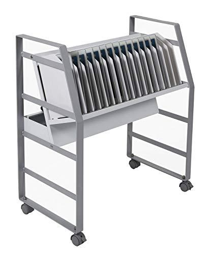 16 Tablet/Chromebook Open Charging Cart -