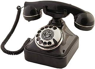 Siyah Gümüş Klasik Telefon