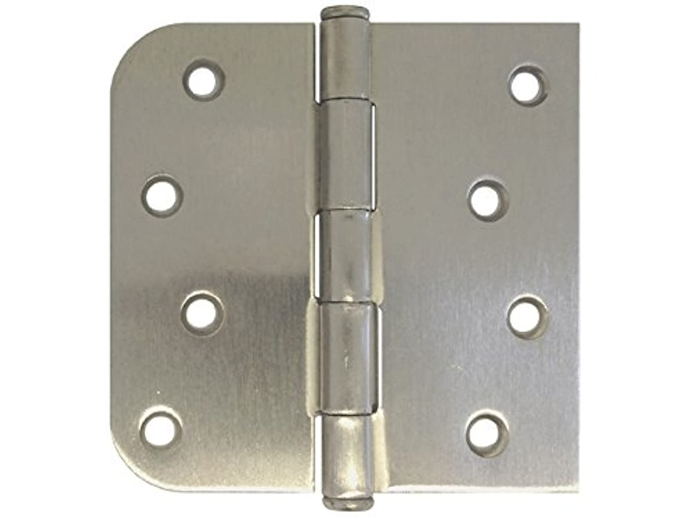 6 Pack Satin Nickel Finish US15 Interior Exterior Door Hinges (4