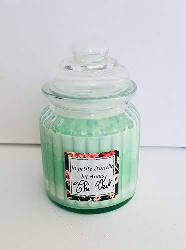 La Petit ÉtinCELLE BY ANAIS: plantaardige kaarsen (sojawas, biologisch afbreekbaar), geurvet groene thee (zonder CMR en ftalaat), 60 uur brandduur