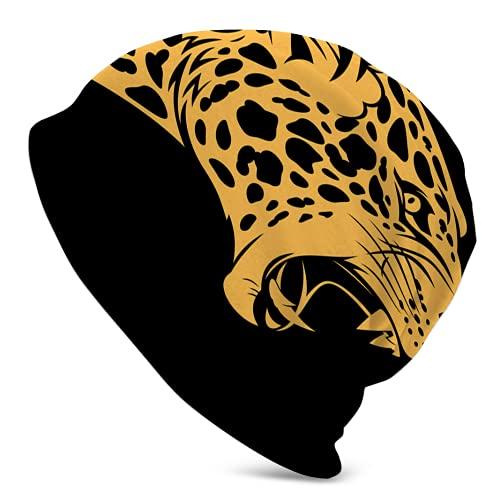 Growling Jaguar Wild Cat Ciclo Skull Cap Running Ciclismo Invierno