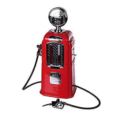 BQT dubbel geweerwijnstation, donkere biertoevoer, alcoholische vloeibare drank, drankzetapparaat, staafbiergereedschap, 21,5 x 17,5 x 43 cm (rood, zwart)