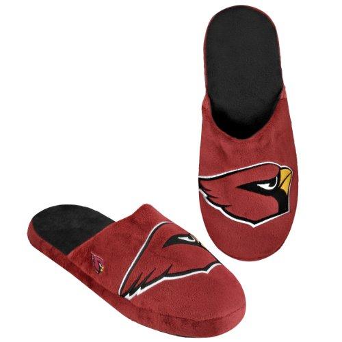 Arizona Cardinals 2011 Big Logo Men Slipper Tpr Sole Medium