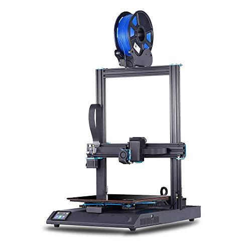 CIJK Impresora 3D, Soporte para Impresora, Modelo Lecho Térmico De Vidrio De Celosía Ultra Silencioso Marco De Extrusión De Aluminio Y Sensor De Salida De Filamento Y Recuperación