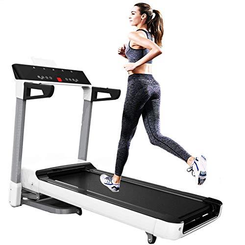JJGS Professionele loopband, Folding Treadmill elektrisch, 115 cm x 43 cm loopvlak, maximale belasting 150 kg, instelbaar snelheidsbereik 1-16 km/h, 12 voorprogramma's, fitnessapparaten