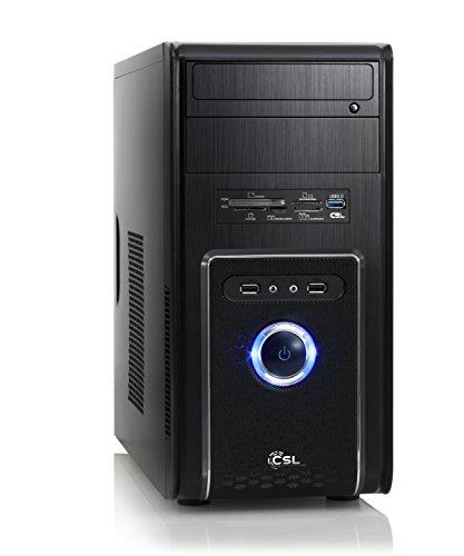 CSL Speed X100 - Intel Xeon E3-1231 v3 4X 3400MHz, 8GB RAM, 500GB HDD, Radeon R5 230, DVD, USB 3.1