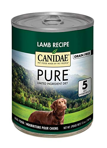 CANIDAE Grain Free PURE Land Dog Wet Formula with Lamb, 13 oz (12-pack) string
